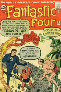 Fantastic Four #6 Cover