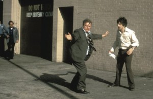 Durning with Al Pacino in Dog Day Afternoon