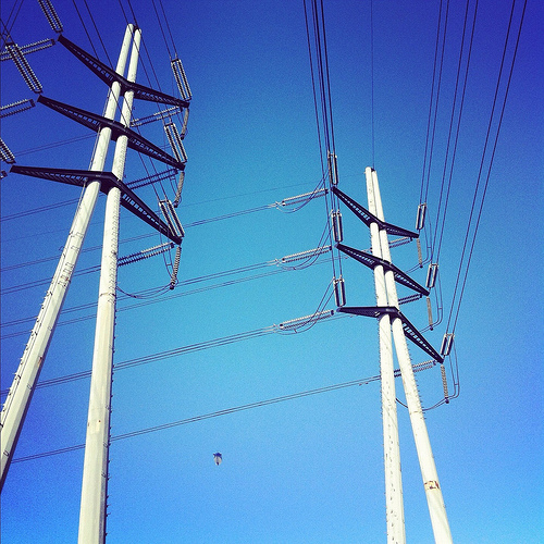 Dreyfuss designed Edison Transmission Towers
