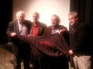 Doctor Michael Baden & creators of Heart: Randy Jurgensen, Larry Marinelli & Chris D'Antoni
