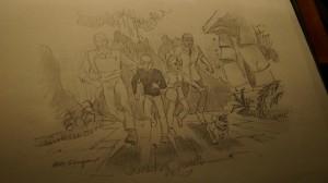 Jonny Quest character sketch