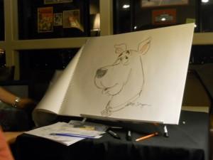 Scooby Doo sketch