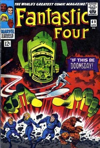Fantastic Four #49, April 1966, by Jack Kirby and Joe Sinnott. Click to enlarge. (Image © Marvel)