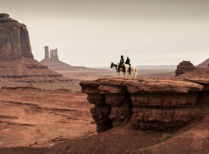 The Lone Ranger Over Monument Valley