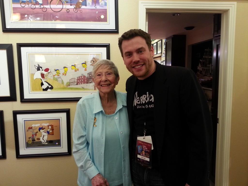 Martha Sigall and I