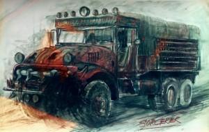 Sorcerer-truck